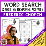 CHOPIN Word Search and Research Activity
