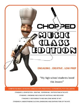 CHOPPED for music class