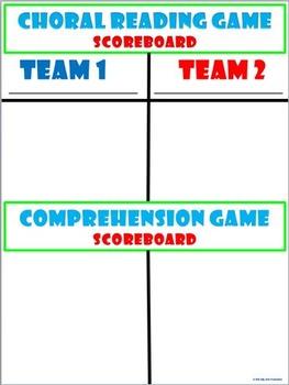 COMPREHENSION GAME! FREEBIE!