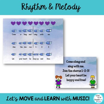 "Choral Song & Solfege Lesson ""Come Along and Sing With Me"" 3 part acapella round"