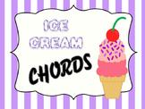 CHORD CONSTRUCTION - ICE CREAM CHORDS