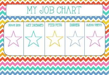 CHORE CHART (young child)