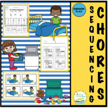 CHORES SEQUENCE PICTURE SETS