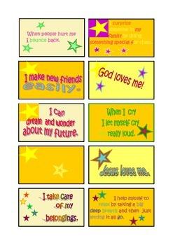 CHRISTIAN AFFIRMATIONS FOR CHILDREN
