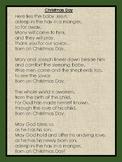 CHRISTIAN CHRISTMAS POEM