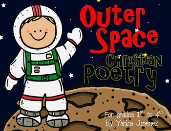 CHRISTIAN Outer Space Poetry. Play with words and become a
