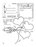 CHRISTIAN VALENTINES DAY COLORING, 5 PAGES, CHRISTIAN VALENTINES DAY ACTIVITIES
