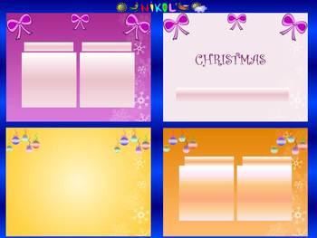 Winter Activities - Editable Templates