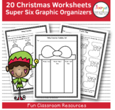 CHRISTMAS - 20 Christmas Themed Super Six Comprehension Strategies
