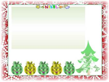Christmas Activities - 3 Editable Powerpoint templates - Winter themes