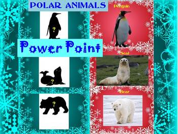 Christmas Activities - Bundle - POLAR ANIMALS - Game -  Alphabet - Numbers