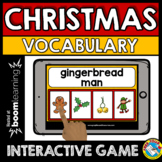 CHRISTMAS ACTIVITIES KINDERGARTEN (DECEMBER VOCABULARY GAM