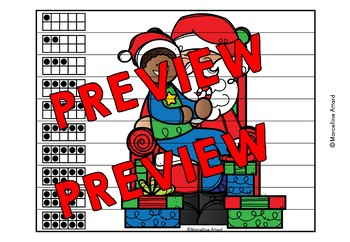 CHRISTMAS ACTIVITIES KINDERGARTEN (NUMBER SENSE CENTER PUZZLES)