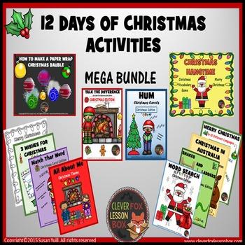 Christmas Activities Bundle