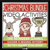 CHRISTMAS ACTIVITIES VIDEO BUNDLE: CLASS MYSTERY / ESCAPE