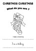 CHRISTMAS - ACTIVITY - BOOK PRINTABLE - CHRISTMAS WHAT DO YOU SEE?