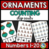 CHRISTMAS ACTIVITY KINDERGARTEN (ORNAMENTS COUNTING TO 20)