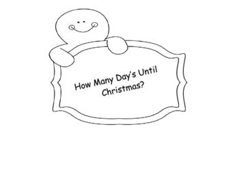 CHRISTMAS ADVENT CHAIN CALENDAR