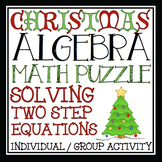CHRISTMAS ALGEBRA: SOLVING EQUATIONS ACTIVITY