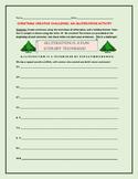 CHRISTMAS ALLITERATION CHALLENGE ACTIVITY, GRADES 3-6