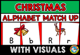 CHRISTMAS ALPHABET ACTIVITIES (LETTER MATCHING UPPERCASE AND LOWERCASE CENTER)
