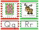 CHRISTMAS ALPHABET CARDS FOR DECEMBER