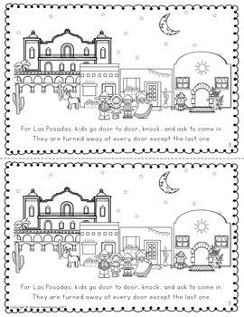 CHRISTMAS AROUND THE WORLD ACTIVITIES, READING  AND WRITING MEXICO LAS POSADAS