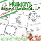 CHRISTMAS AROUND THE WORLD ACTIVITIES, READING  AND WRITING MEXICO LAS POSADAS
