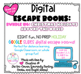 CHRISTMAS AROUND THE WORLD BUNDLE: Digital Escape Room BUN