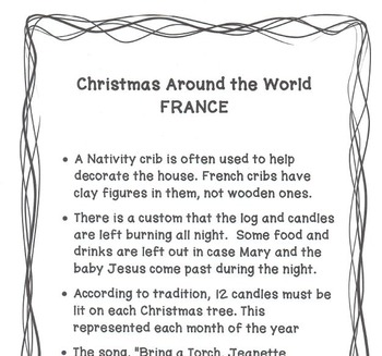 CHRISTMAS AROUND THE WORLD:  France - BRING A TORCH, JEANNETTE, ISABELLA