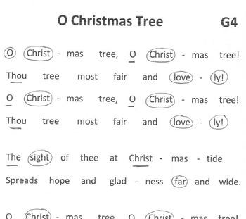 CHRISTMAS AROUND THE WORLD:  Germany – O Christmas Tree  FREEBIE