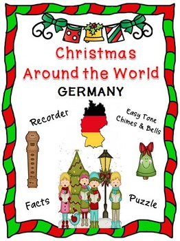 CHRISTMAS AROUND THE WORLD:  Germany – O Christmas Tree  FREEBIE