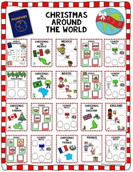 CHRISTMAS AROUND THE WORLD - Go Digital With Google Slides™