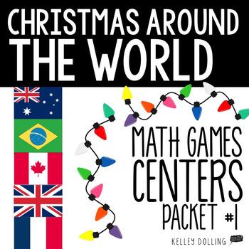 Christmas Around the World Math Centers (1)