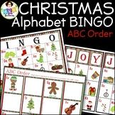 Christmas Bingo ● Alphabet Bingo ● ABC order ● Alphabet Ca