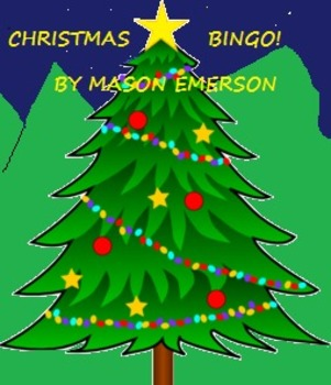 CHRISTMAS BINGO (30 COLORFUL CARDS IN ENGLISH AND SPANISH)