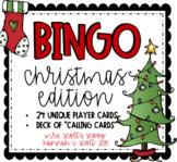 CHRISTMAS BINGO (24 Cards & Calling Cards)