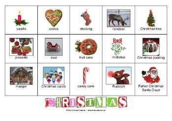 CHRISTMAS - GAME - BINGO