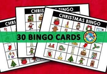 CHRISTMAS BINGO GAME (DECEMBER ACTIVITIES)
