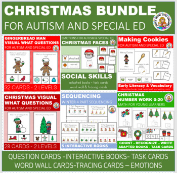 CHRISTMAS BUNDLE FOR AUTISM AND SPECIAL EDUCATION