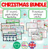 CHRISTMAS PACK: INVENT YOUR STORY BOARDS + CREATIVE WRITIN