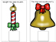 CHRISTMAS Beginning Sounds Interactive BUNDLE 1 & 2