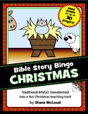 CHRISTMAS Bible Story Bingo - for 30 players in classic 5x5-block format