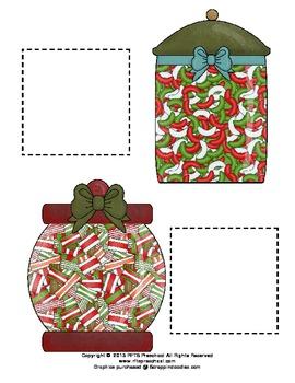 CHRISTMAS CANDY JAR MATCH-UP