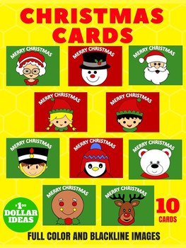 10 CHRISTMAS CARDS | CHRISTMAS CRAFTS FOR KIDS