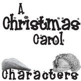 A CHRISTMAS CAROL Characters Organizer (by Dickens)