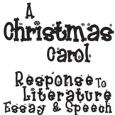 A CHRISTMAS CAROL Essay Prompts & Grading Rubrics