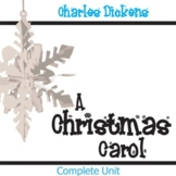 A CHRISTMAS CAROL Unit Novel Study (by Charles Dickens) - Literature Guide
