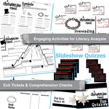 A CHRISTMAS CAROL Unit Plan - Novel Study Bundle (Dickens) - Literature Guide