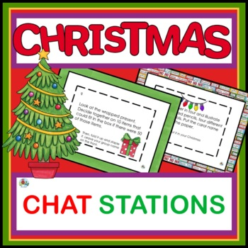 CHRISTMAS CENTERS WITH READY TO GO TASK CARDS
